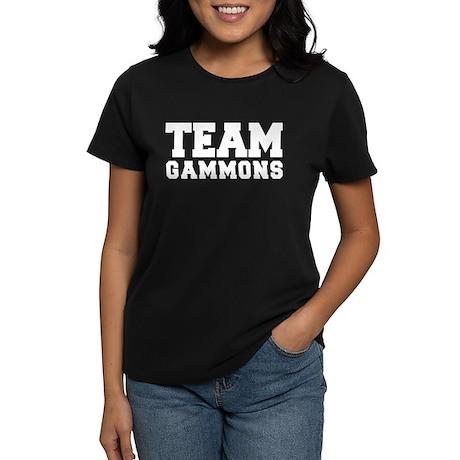 TEAM GAMMONS Women's Dark T-Shirt