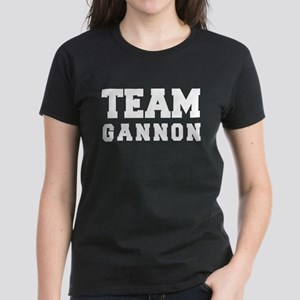 TEAM GANNON Women's Dark T-Shirt