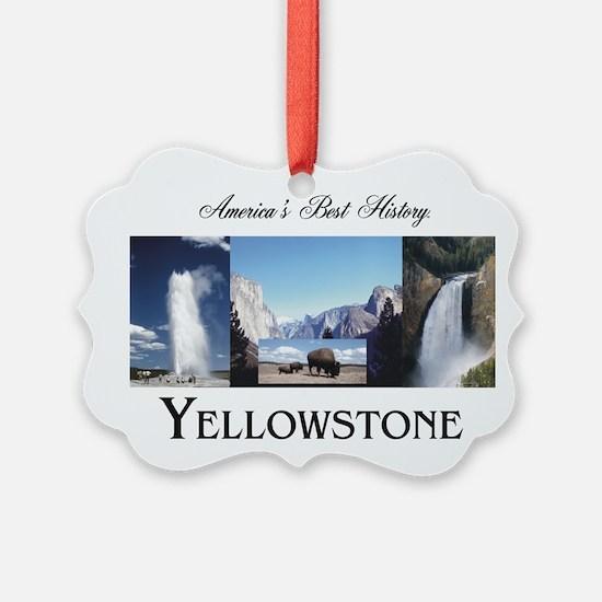 Yellowstone Americasbesthistory.c Ornament