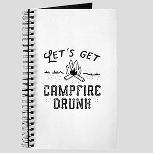 Let's Get Campfire Drunk Journal