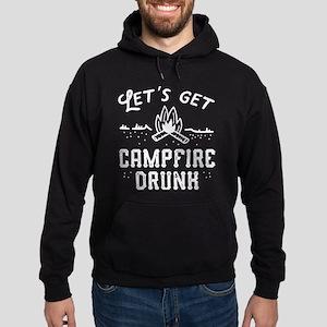 Let's Get Campfire Drunk Hoodie (dark)