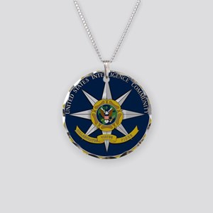 IC Seal Necklace Circle Charm