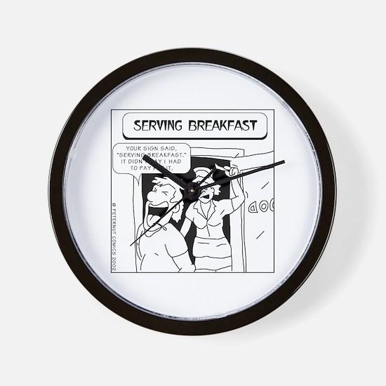 Food service Wall Clock
