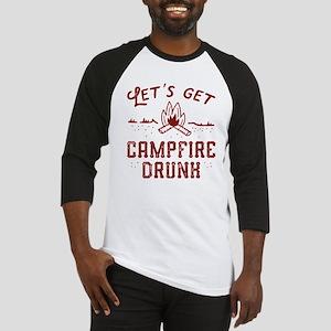 Let's Get Campfire Drunk Baseball Jersey