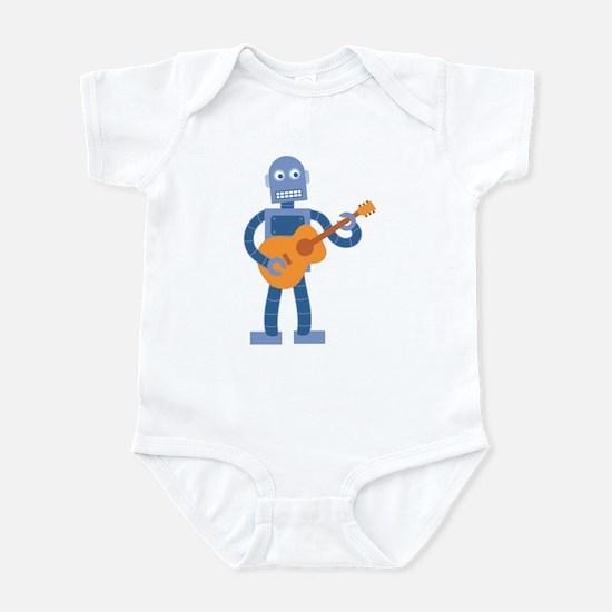 Guitar Robot Infant Bodysuit