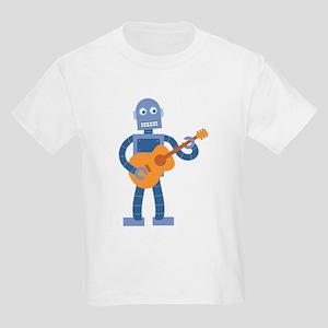 Guitar Robot Kids Light T-Shirt