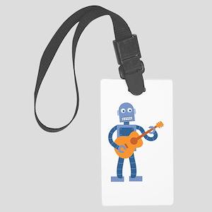 Guitar Robot Large Luggage Tag