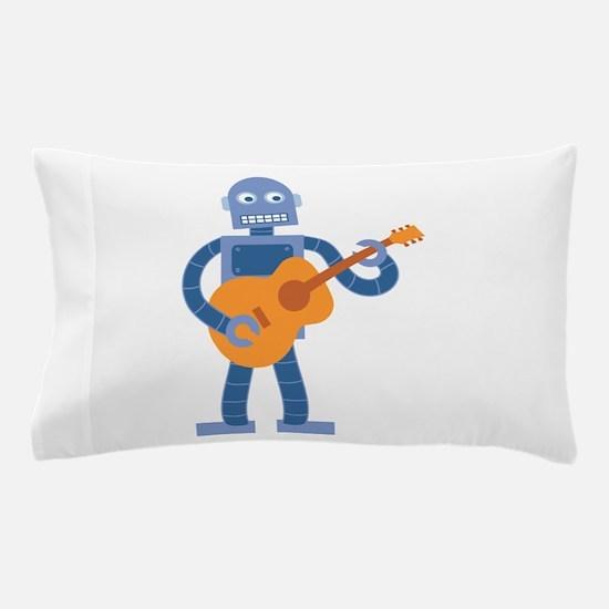 Guitar Robot Pillow Case