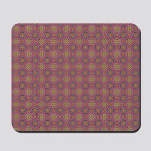 Fake knittted Kaleidoscope Mousepad