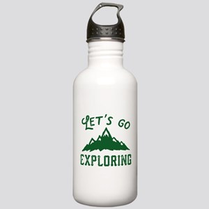 Let's Go Exploring Stainless Water Bottle 1.0L