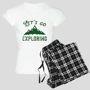 Let's Go Exploring Women's Light Pajamas