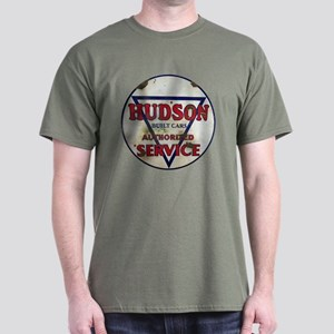 Hudson Service Sign Dark T-Shirt