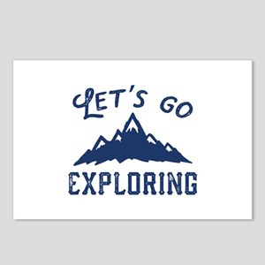 Let's Go Exploring Postcards (Package of 8)