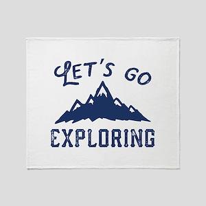Let's Go Exploring Stadium Blanket
