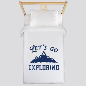 Let's Go Exploring Twin Duvet