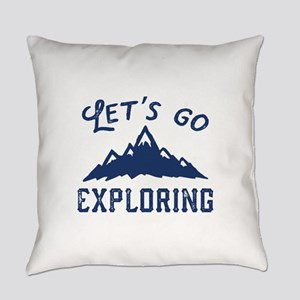 Let's Go Exploring Everyday Pillow