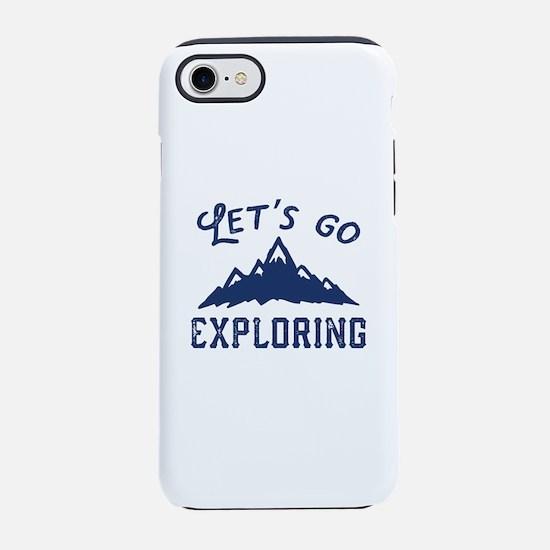 Let's Go Exploring iPhone 7 Tough Case
