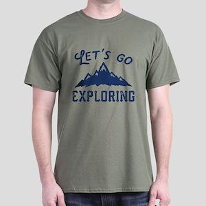 Let's Go Exploring Dark T-Shirt