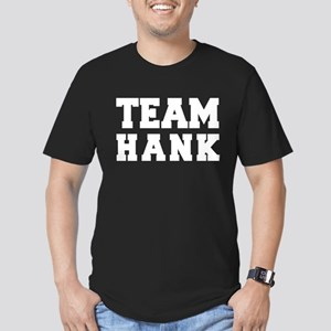TEAM HANK Men's Fitted T-Shirt (dark)