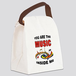 MUSIC Canvas Lunch Bag