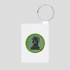 Chess Aluminum Photo Keychain