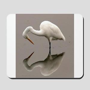 Stork Reflection Mousepad