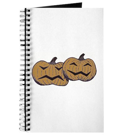 Comedy Tragedy Pumpkins Journal