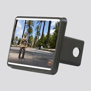 The Dude in Spain Rectangular Hitch Cover