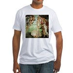 Birth of Venus Botticelli Fitted T-Shirt