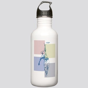 SketchySky with Blocks Stainless Water Bottle 1.0L