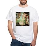 Birth of Venus Botticelli White T-Shirt