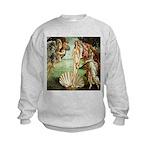 Birth of Venus Botticelli Kids Sweatshirt