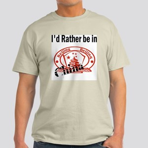 I'd Rather Be in China Ash Grey T-Shirt