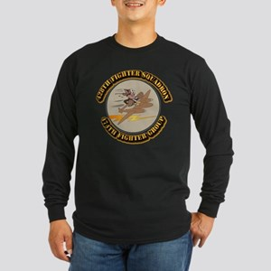 AAC - 428th FS - 474th FG Long Sleeve Dark T-Shirt