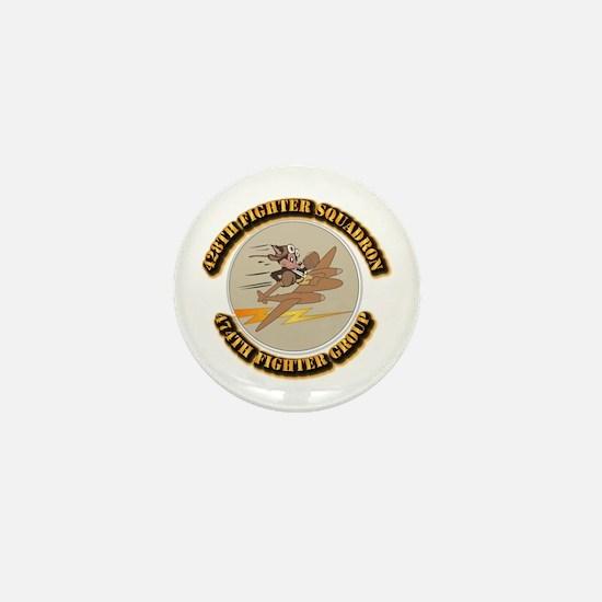 AAC - 428th FS - 474th FG Mini Button