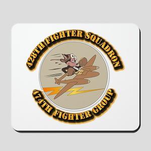 AAC - 428th FS - 474th FG Mousepad
