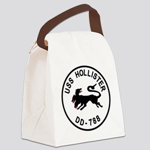 uss_hollister Canvas Lunch Bag