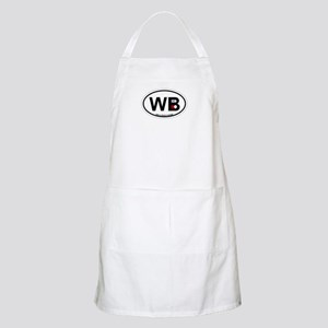 Wells Beach ME - Oval Design. Apron