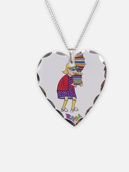 Cute Hobbies Necklace Heart Charm