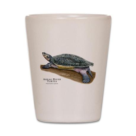 Arrau River Turtle Shot Glass