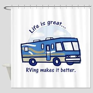 RVinggreat Shower Curtain