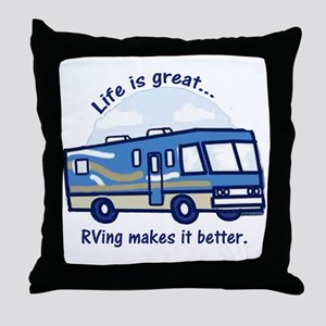 RVinggreat Throw Pillow