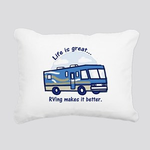 RVinggreat Rectangular Canvas Pillow