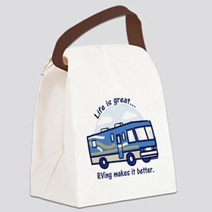 RVinggreat Canvas Lunch Bag