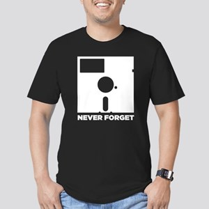 Never Forget the 5 in floppy Men's Fitted T-Shirt
