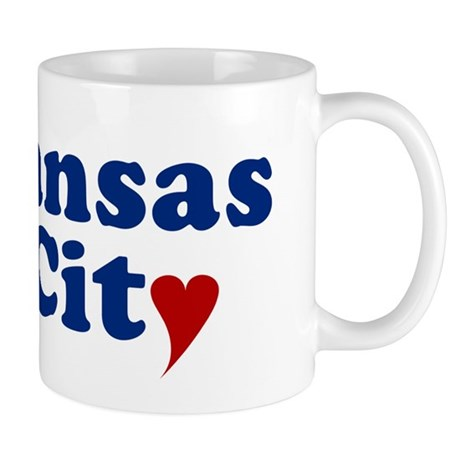 Kansas City with Heart Mug