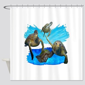 FOUR MARINERS Shower Curtain