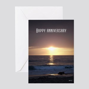 Marriage greeting cards cafepress happy anniversary greeting card m4hsunfo