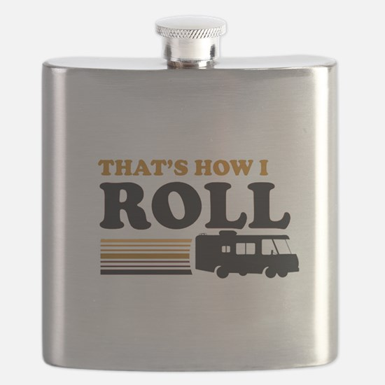 Thats How I Roll (RV) Flask