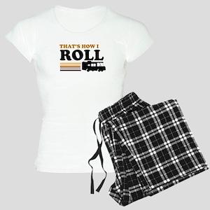 Thats How I Roll (RV) Women's Light Pajamas